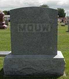 MOUW, HEADSTONE - Sioux County, Iowa | HEADSTONE MOUW