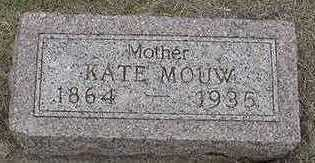 MOUW, KATE - Sioux County, Iowa | KATE MOUW