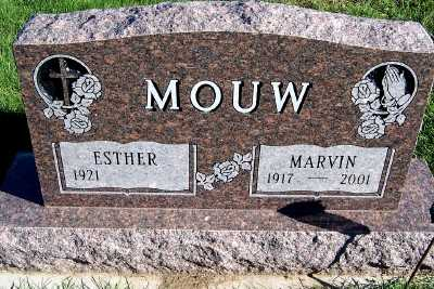 MOUW, MARVIN - Sioux County, Iowa | MARVIN MOUW