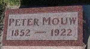MOUW, PETER - Sioux County, Iowa | PETER MOUW