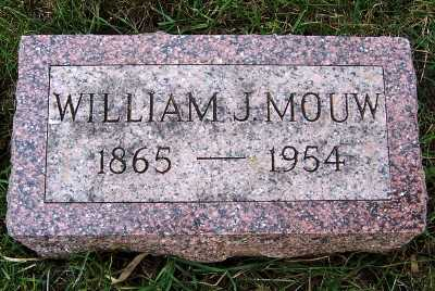 MOUW, WILLIAM J. - Sioux County, Iowa | WILLIAM J. MOUW