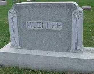 MUELLER, HEADSTONE - Sioux County, Iowa | HEADSTONE MUELLER