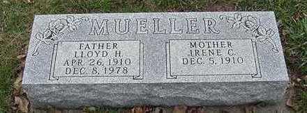 MUELLER, LLOYD H. - Sioux County, Iowa | LLOYD H. MUELLER