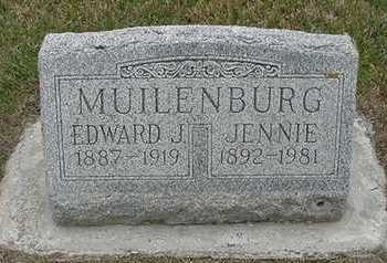 MUILENBURG, JENNIE (MRS. EDWARD) - Sioux County, Iowa | JENNIE (MRS. EDWARD) MUILENBURG