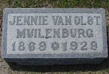 VANOLST MUILENBURG, JENNIE - Sioux County, Iowa | JENNIE VANOLST MUILENBURG