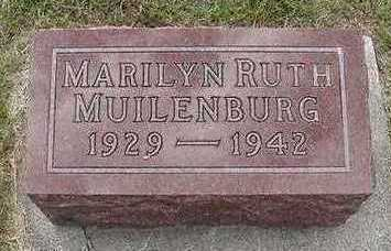 MUILENBURG, MARILYN RUTH - Sioux County, Iowa | MARILYN RUTH MUILENBURG