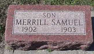 MUILENBURG, MERRILL SAMUEL - Sioux County, Iowa | MERRILL SAMUEL MUILENBURG