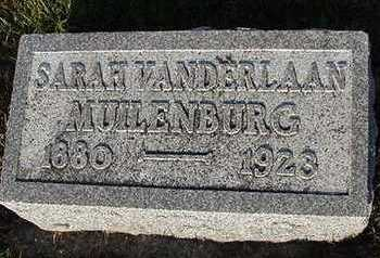 VANDERLAAN MUILENBURG, SARAH (MRS. CORNELIUS) - Sioux County, Iowa | SARAH (MRS. CORNELIUS) VANDERLAAN MUILENBURG