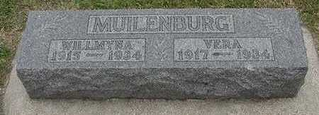 MUILENBURG, WILLMYNA - Sioux County, Iowa | WILLMYNA MUILENBURG