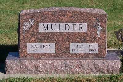 MULDER, BEN JR. - Sioux County, Iowa | BEN JR. MULDER