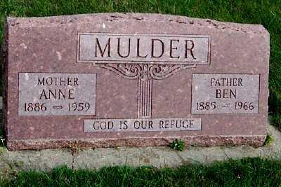 MULDER, BEN - Sioux County, Iowa | BEN MULDER