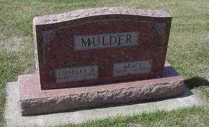 MULDER, GRACE (MRS. CHARLES R.) - Sioux County, Iowa | GRACE (MRS. CHARLES R.) MULDER