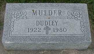 MULDER, DUDLEY - Sioux County, Iowa | DUDLEY MULDER