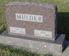 MULDER, ED - Sioux County, Iowa | ED MULDER