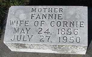 MULDER, FANNIE (MRS. CORNIE) - Sioux County, Iowa | FANNIE (MRS. CORNIE) MULDER