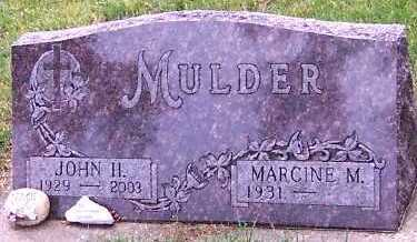 MULDER, JOHN H. (1929-2003) - Sioux County, Iowa | JOHN H. (1929-2003) MULDER