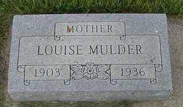 MULDER, LOUISE - Sioux County, Iowa | LOUISE MULDER