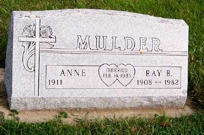 MULDER, RAY B. - Sioux County, Iowa | RAY B. MULDER