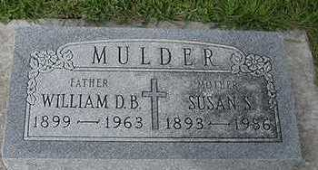 MULDER, WILLIAM B. - Sioux County, Iowa | WILLIAM B. MULDER
