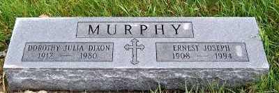 MURPHY, DOROTHY JULIA - Sioux County, Iowa | DOROTHY JULIA MURPHY