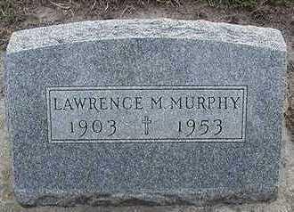 MURPHY, LAWRENCE - Sioux County, Iowa   LAWRENCE MURPHY