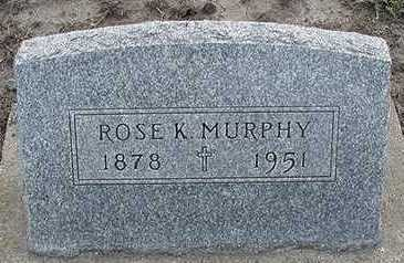 MURPHY, ROSE K. - Sioux County, Iowa | ROSE K. MURPHY