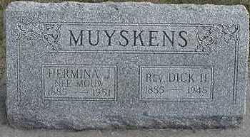 MOUW MUYSKENS, HERMINA J. - Sioux County, Iowa | HERMINA J. MOUW MUYSKENS