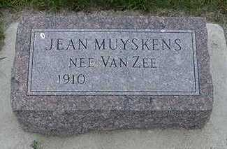 MUYSKENS, JEAN - Sioux County, Iowa | JEAN MUYSKENS