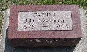 NEWENDORP, JOHN - Sioux County, Iowa | JOHN NEWENDORP