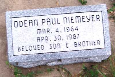 NIEMEYER, ODEAN PAUL - Sioux County, Iowa | ODEAN PAUL NIEMEYER