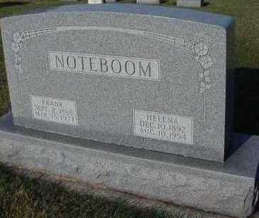 NOTEBOOM, FRANK - Sioux County, Iowa | FRANK NOTEBOOM