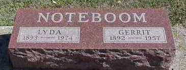 NOTEBOOM, GERRIT - Sioux County, Iowa | GERRIT NOTEBOOM