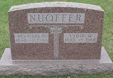 NUOFFER, LYDIA M. (MRS. CARL) - Sioux County, Iowa | LYDIA M. (MRS. CARL) NUOFFER