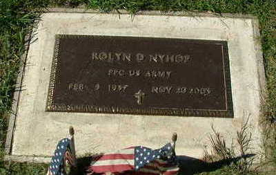 NYHOF, ROLYN D. - Sioux County, Iowa | ROLYN D. NYHOF