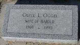 OGGEL, OLIVE L. - Sioux County, Iowa | OLIVE L. OGGEL