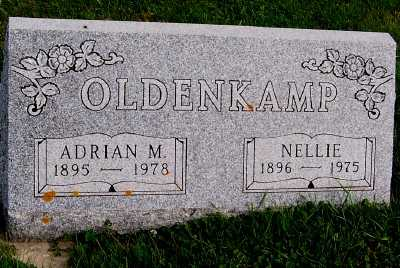 OLDENKAMP, NELLIE - Sioux County, Iowa | NELLIE OLDENKAMP