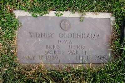 OLDENKAMP, SIDNEY - Sioux County, Iowa | SIDNEY OLDENKAMP
