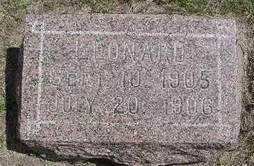 OOLMAN, LEONARD - Sioux County, Iowa | LEONARD OOLMAN