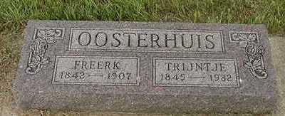 OOSTERHUIS, FREERK - Sioux County, Iowa | FREERK OOSTERHUIS