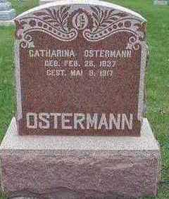 OSTERMANN, CATHARINA - Sioux County, Iowa | CATHARINA OSTERMANN