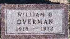 OVERMAN, WILLIAM G. - Sioux County, Iowa | WILLIAM G. OVERMAN