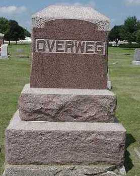 OVERWEG, HEADSTONE - Sioux County, Iowa | HEADSTONE OVERWEG