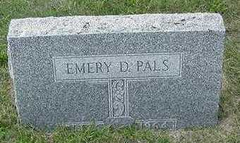 PALS, EMERY D. - Sioux County, Iowa | EMERY D. PALS