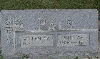 PALS, WILLEMINA - Sioux County, Iowa | WILLEMINA PALS