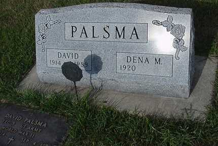 PALSMA, DAVID - Sioux County, Iowa | DAVID PALSMA