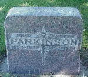 PARKINSON, JOHN - Sioux County, Iowa | JOHN PARKINSON