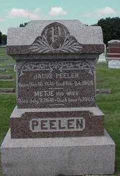 PEELEN, JACOB - Sioux County, Iowa | JACOB PEELEN