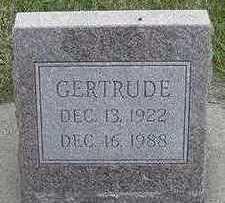 PENNINGS, GERTRUDE - Sioux County, Iowa   GERTRUDE PENNINGS