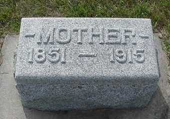 PETERS, MOTHER - Sioux County, Iowa | MOTHER PETERS