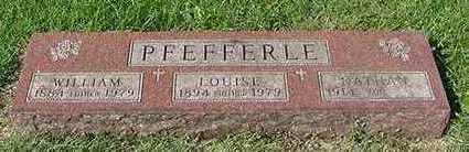 PFEFFERLE, WILLIAM - Sioux County, Iowa | WILLIAM PFEFFERLE